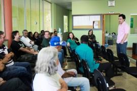 Cristiano defende propostas para o desenvolvimento sustentável de Carrancas