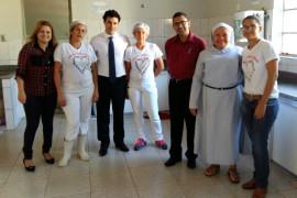 Deputado visita instituição de assistência social em Patos de Minas