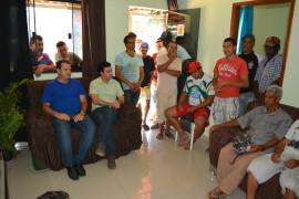 Cristiano Silveira debate projetos para cidade de Orizânia