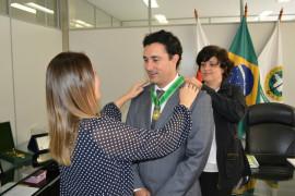 Cristiano Silveira recebe Medalha do Mérito da Defensoria Pública