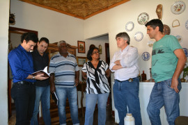 Cristiano Silveira participa de reunião com lideranças em Rio Piracicaba