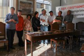 Cristiano Silveira participa de convenção em Coronel Xavier Chaves