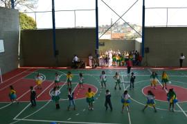 Barbacena: Escola Estadual Dr. Alberto Vieira Pereira ganha quadra poliesportiva