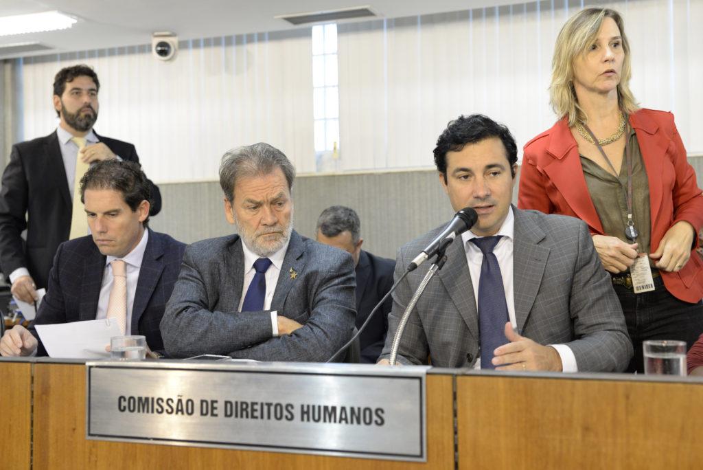 Gustavo Corrêa (deputado estadual DEM/MG), Durval Ângelo (deputado estadual PT/MG), Cristiano Silveira (deputado estadual PT/MG)