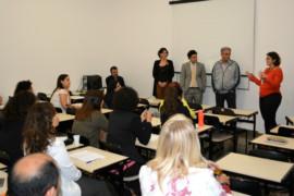 Escola do Legislativo da ALMG recebe grupo de estudos em direitos humanos