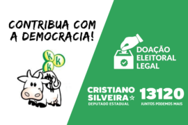 Ajude a fortalecer a democracia: Faça uma doação para nossa campanha!