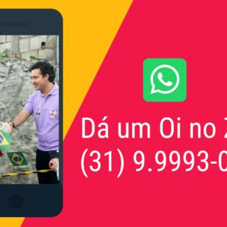 Quer receber as notícias da nossa campanha pelo Whatsapp?