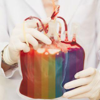 Pelo direito de doar sangue sem discriminação
