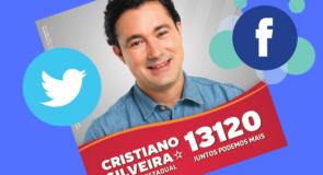 Junte-se ao time Cristiano Silveira 13120 nas redes sociais!
