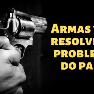 Armar a população vai resolver o problema da criminalidade?