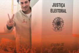 Cristiano agradece mais uma vez ao povo mineiro por sua reeleição!