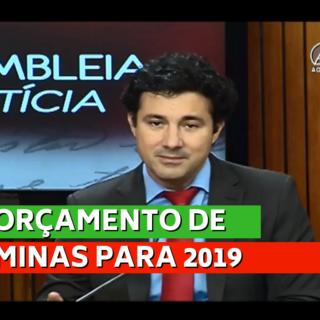 Orçamento de Minas de 2019 precisa priorizar a geração de emprego