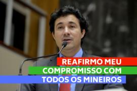 Cristiano reafirma compromisso com o desenvolvimento de Minas