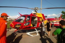 Samu Norte de Minas passa a contar com helicóptero para resgates