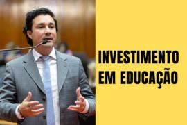 Cristiano defende investimentos para a educação pública