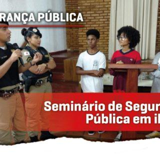 Seminário de Segurança Pública em Ibirité discute o combate à violência contra a mulher