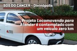 Divinópolis: SOS do Câncer promove atendimento domiciliar a pacientes
