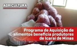 Parceria entre Cristiano e Icaraí de Minas beneficia agricultores familiares