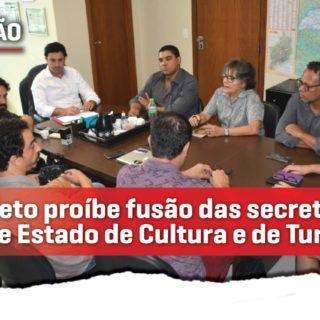Deputado Cristiano Silveira apresenta emenda contra a fusão das secretarias de Cultura e Turismo