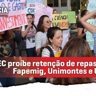 Cristiano propõe PEC que proíbe retenção de repasses à Fapemig, Unimontes e Uemg