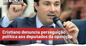 Cristiano Silveira denuncia perseguição política e faz cobrança ao governador Romeu Zema