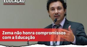 Zema não cumpre compromissos com a Educação em Minas