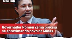 """""""Governador Romeu Zema precisa se aproximar do povo mineiro"""", diz Cristiano."""