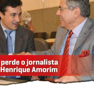 Cristiano Silveira faz homenagem ao jornalista Paulo Henrique Amorim