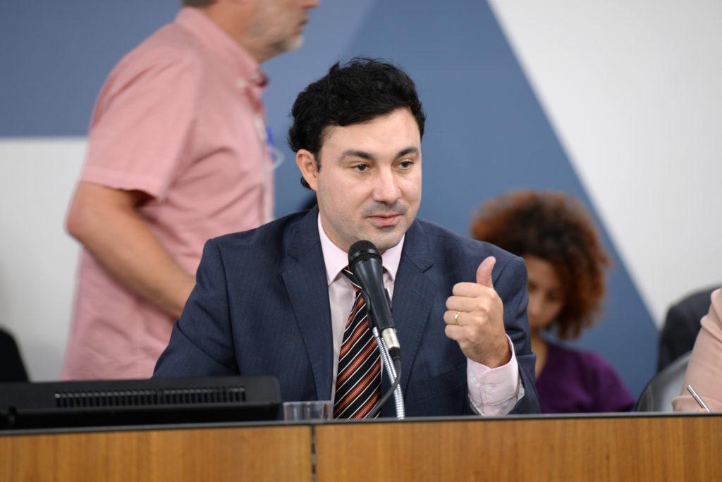 Cristiano Silveira (2º- vice-presidente da ALMG - PT/MG). Foto: Luiz Santana