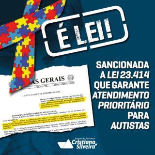 Sancionada Lei que garante atendimento prioritário para autistas