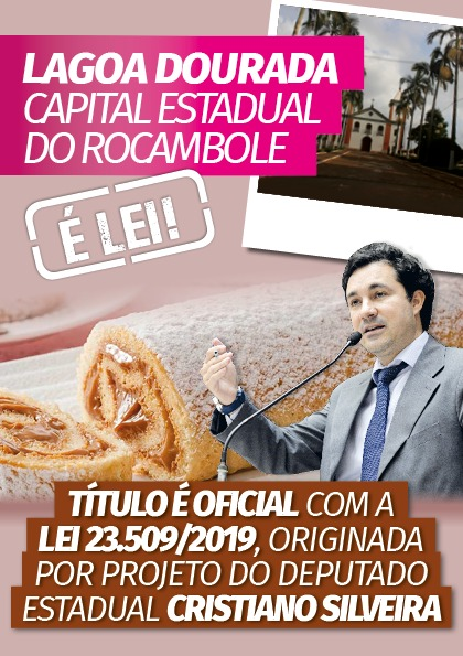 Panfleto Capital do Rocambole frente