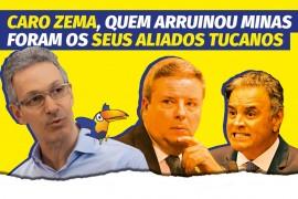 ARTIGO: Caro Zema, quem arruinou Minas foram os seus aliados tucanos