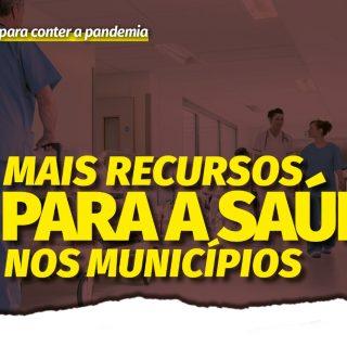 Liberação imediata de recursos para a saúde nos municípios