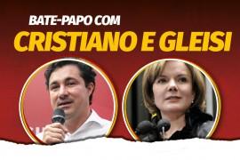 Gleisi Hoffmann e Cristiano Silveira debatem crise do coronavírus e ameaça ao PT