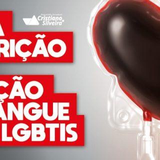 ALMG vota projeto que põe fim à restrição da doação de sangue por LGBTIs
