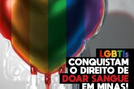 LGBTs conquistam direito de doar sangue em Minas Gerais