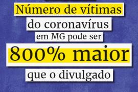 Cristiano denuncia: Casos de coronavírus em Minas pode ser 800% maior do que o divulgado