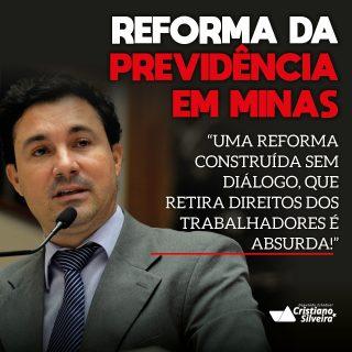 Zema encaminha texto da Reforma da Previdência para ALMG