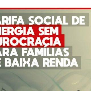 É LEI: Desconto automático da tarifa de energia para famílias inscritas no CadÚnico