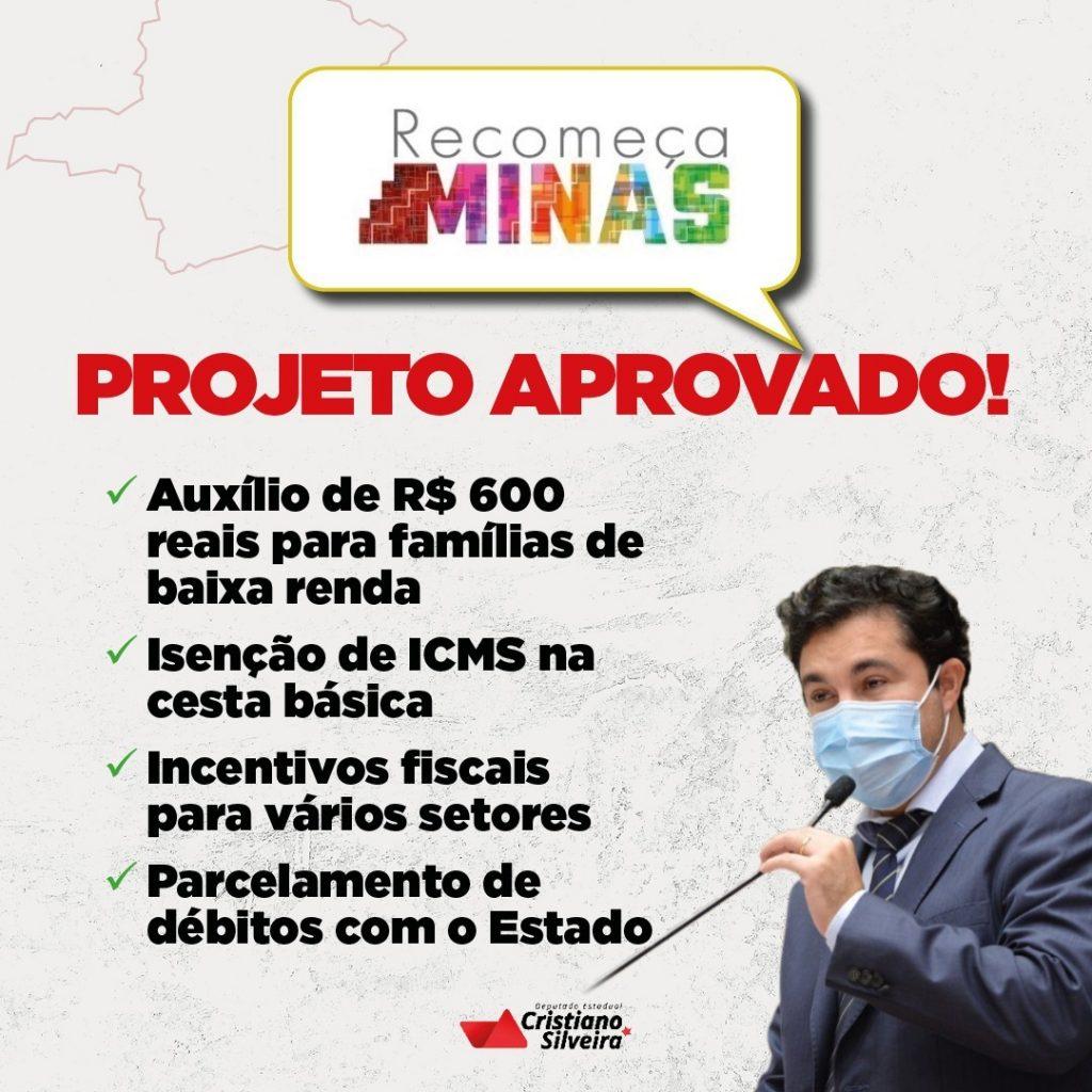 RECOMEÇA-MINAS-ALMG-CRISTIANO-SILVEIRA